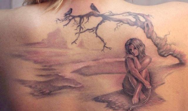 татуировки девушек на теле (31)