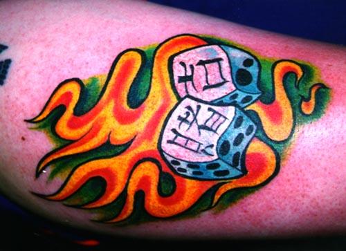 японские татуировки на руке