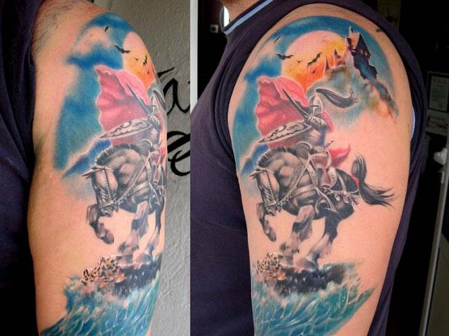 татуировки рыцарей (1)