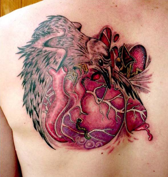 Ворон татуировка (16)