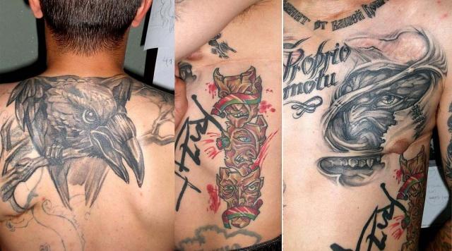 Ворон татуировка (6)