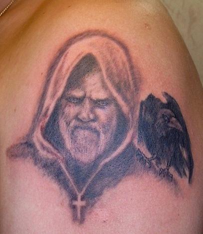 Ворон татуировка (20)