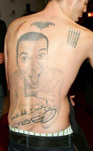 Татуировки Steve-O