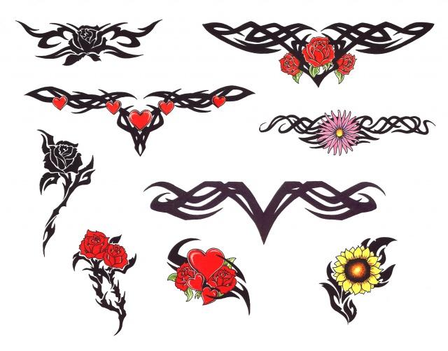 цветные татуировки эскизы (9)