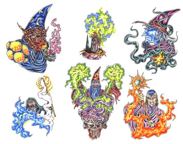 цветные татуировки эскизы (17)
