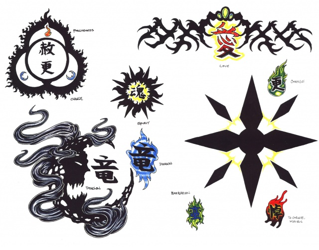 Цветные татуировки эскизы 20 фото