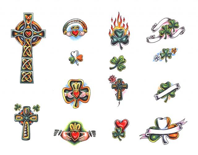 цветные татуировки эскизы (14)