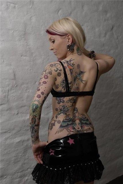 татуировки и девушки (14)