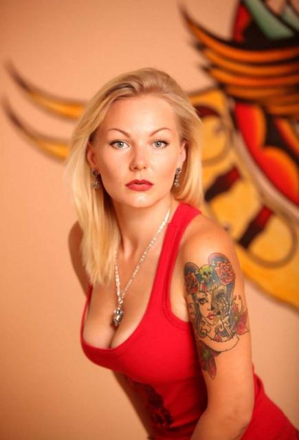 татуировки и девушки (19)