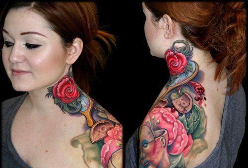 девушки и татуировки для них (14)