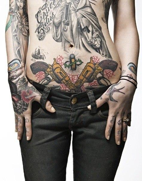 девушки и татуировки для них (10)