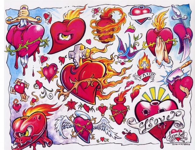Цветные татуировки эскизы (12)