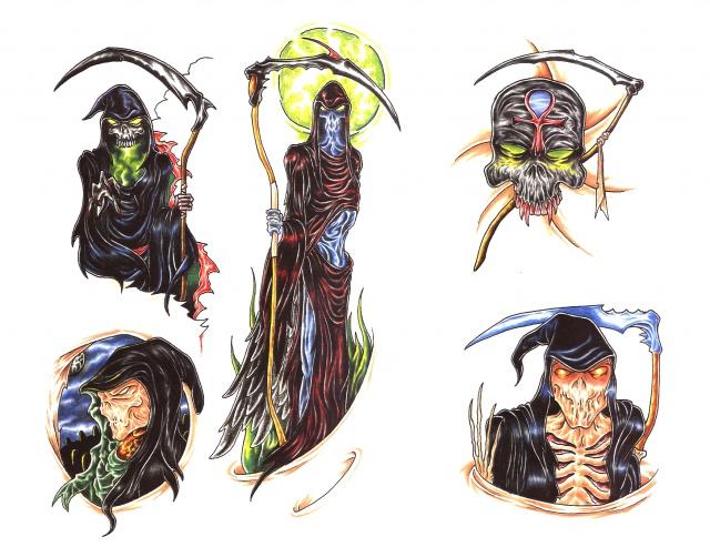татуировки смерти (6)