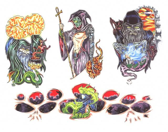татуировки смерти (5)