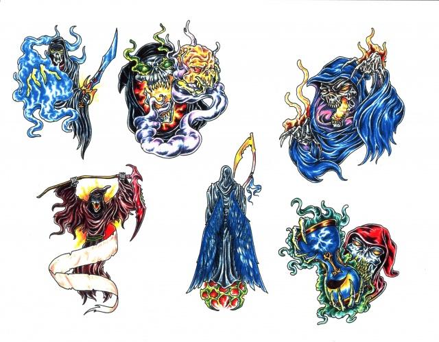 татуировки смерти (4)