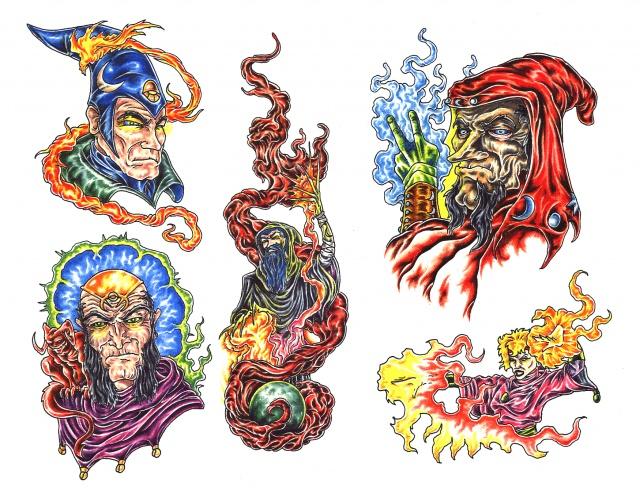 татуировки смерти (3)