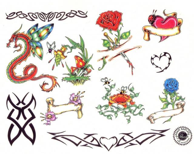 эскизы татуировки дракона (10)