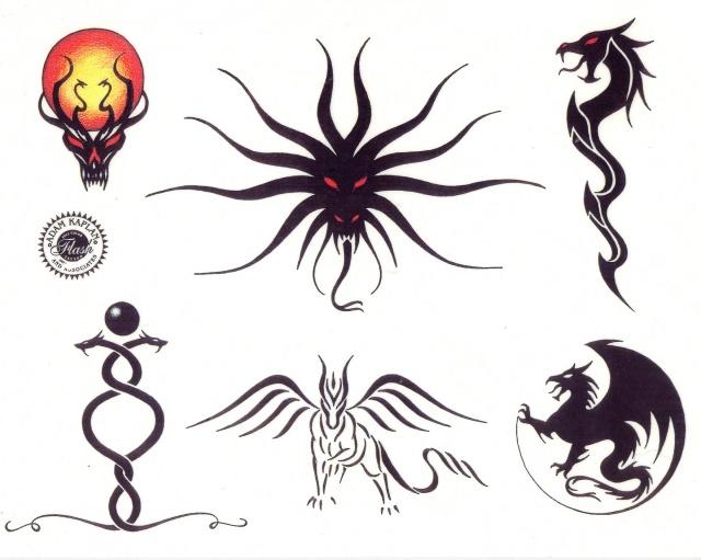 эскизы татуировки дракона (5)