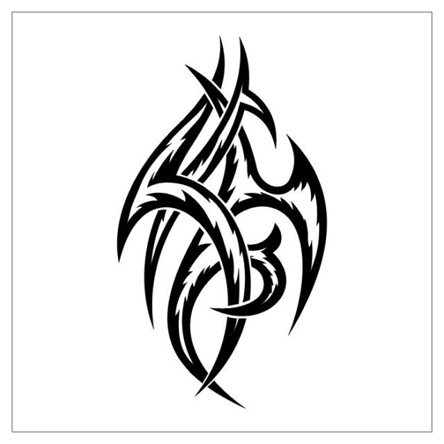 черно картинки татуировок