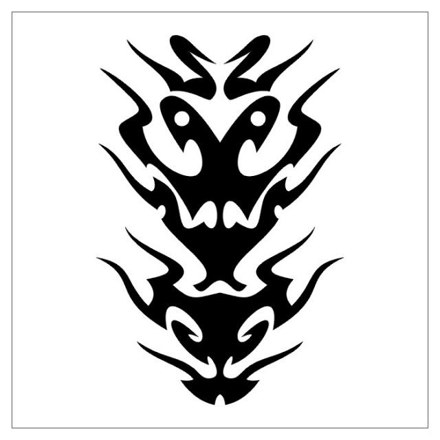 черно-белые эскизы татуировки (20)