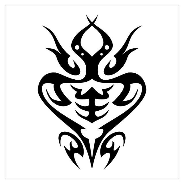 черно-белые эскизы татуировки (19)