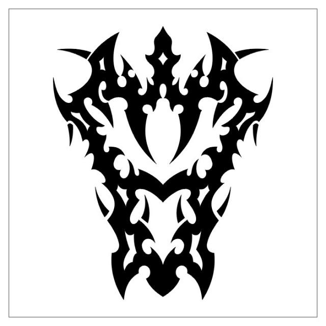 черно-белые эскизы татуировки (18)