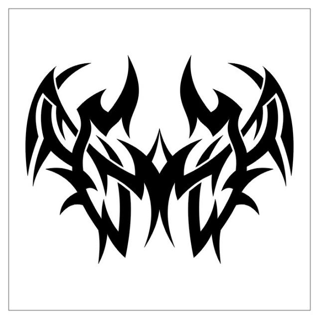 черно-белые эскизы татуировки (17)