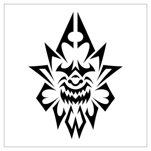 черно-белые эскизы татуировки (14)