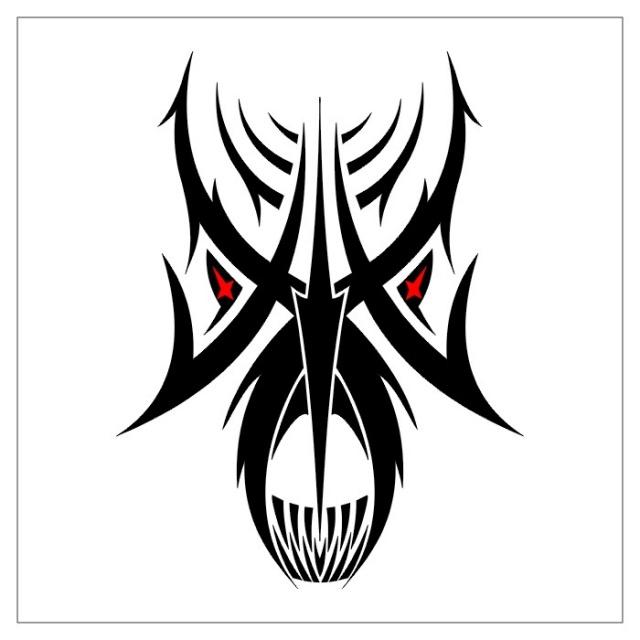 черно-белые эскизы татуировки (12)