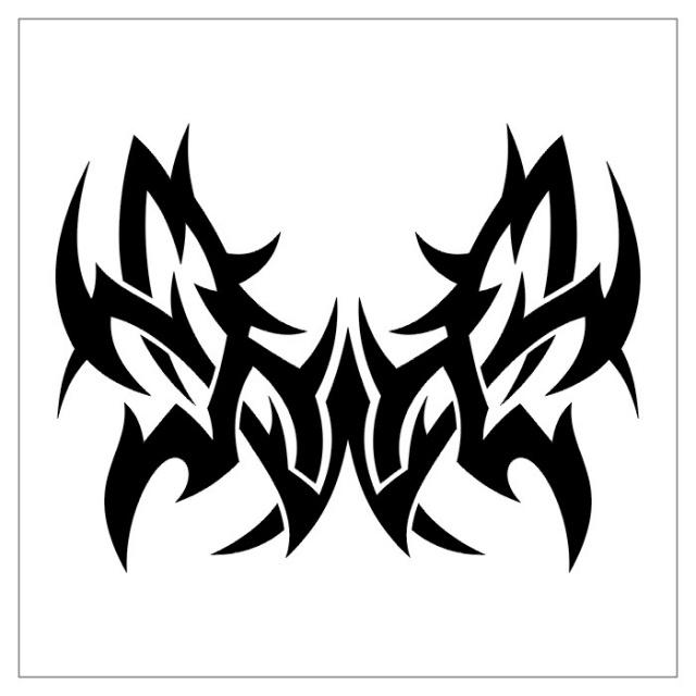 черно-белые эскизы татуировки (29)