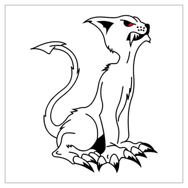 черно-белые эскизы татуировки (9)