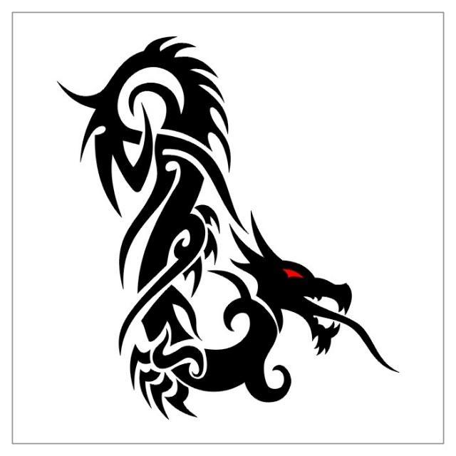 черно-белые эскизы татуировки (8)