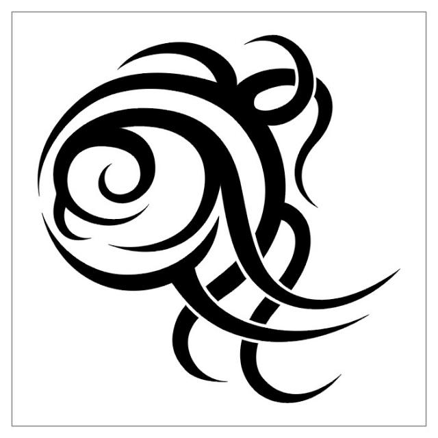 черно-белые эскизы татуировки (7)