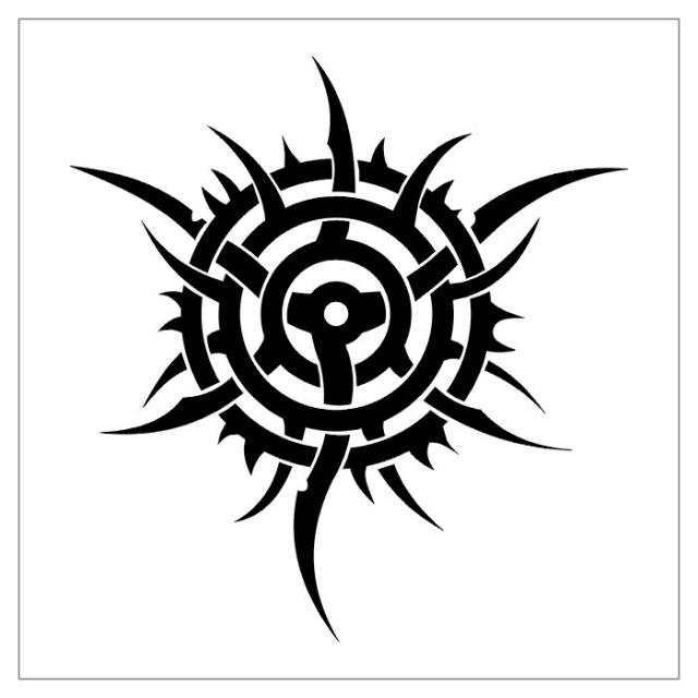 черно-белые эскизы татуировки (6)