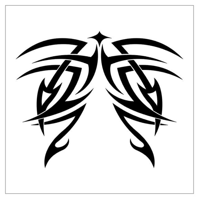 черно-белые эскизы татуировки (27)