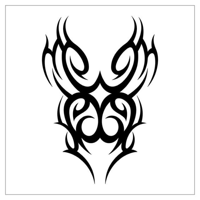 черно-белые эскизы татуировки (26)