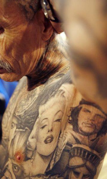 Необычные татуировки на теле