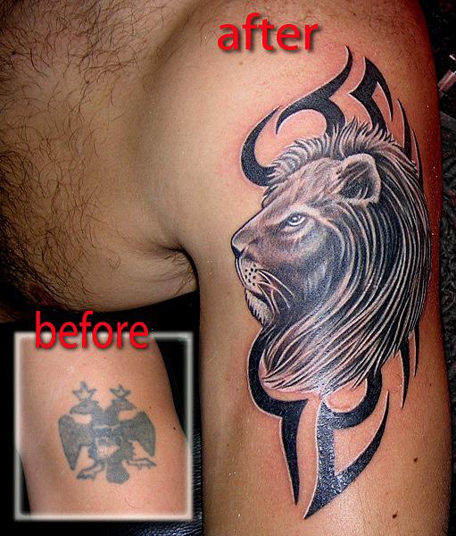 татуировка лев (20)