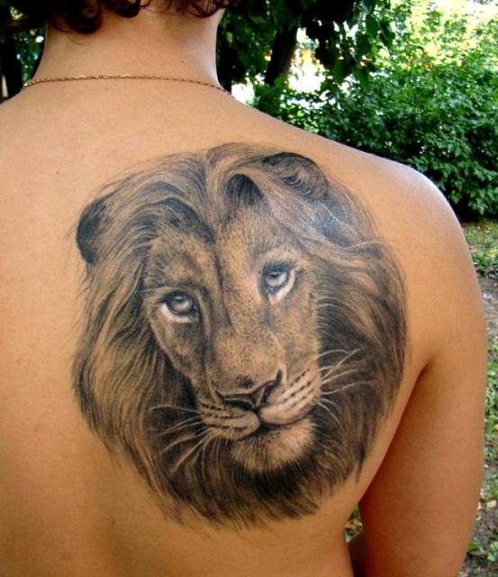 татуировка лев (18)