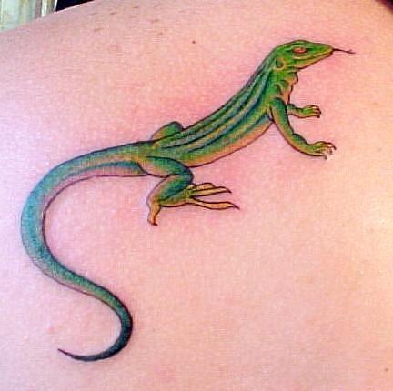 Татуировка ящерица (9)