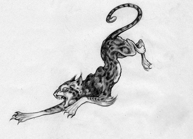 Татуировка рысь (9)