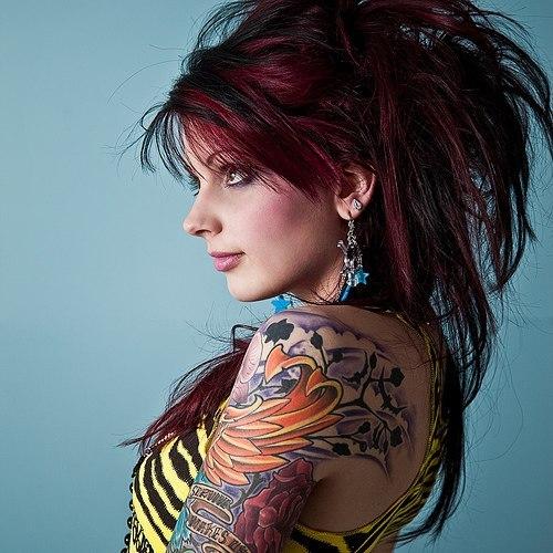 красивые татуировки для девушек на руках