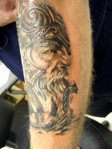Татуировки драккар (21)