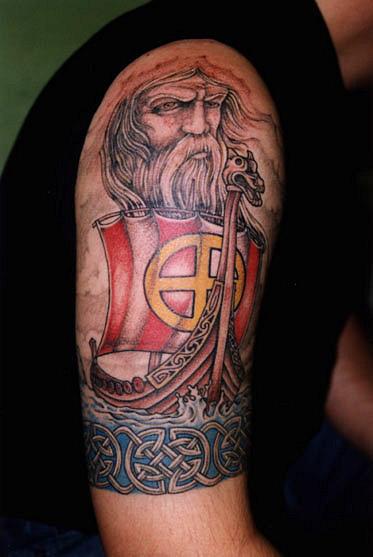 Татуировки драккар (19)