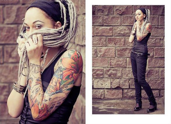 красивые татуировки для девушек на руке