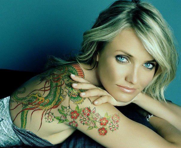 красивые татуировки для девушек на плече