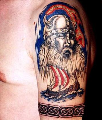 Татуировки драккар (18)
