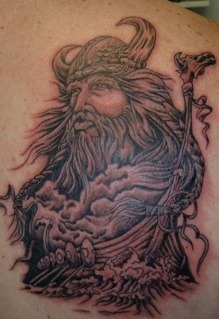 Татуировки драккар (11)
