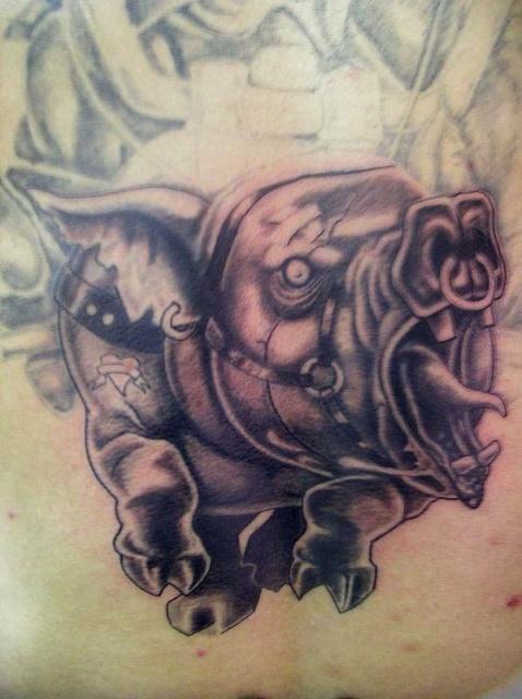 татуировка эскиз кабан (9)
