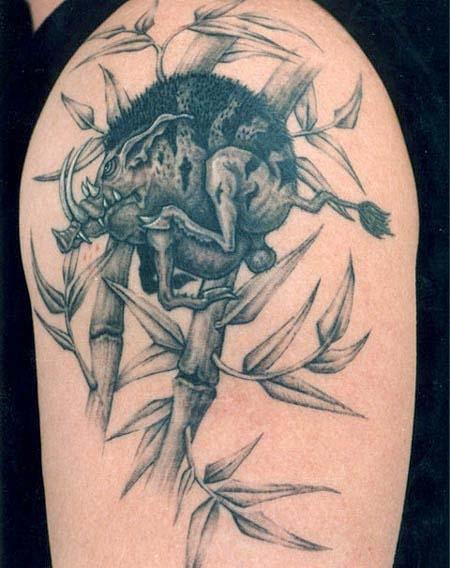 татуировка эскиз кабан (11)